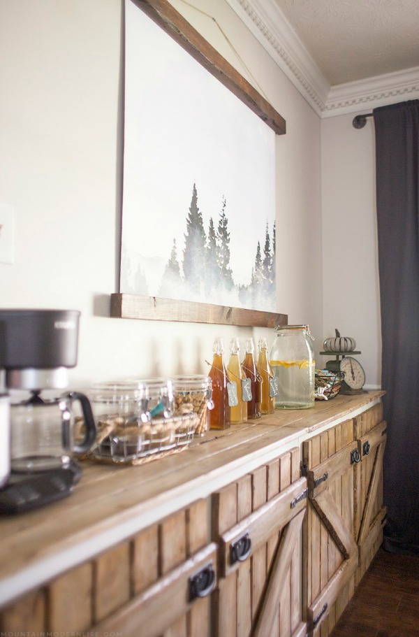 Budget Wall Art For Dining Room | Mountain Modern Life
