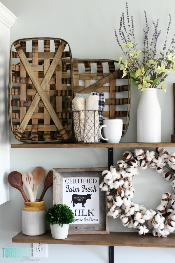 These Simple Diy Farmhouse Shelves Are Easy To Install And Cost Less Than 40 They