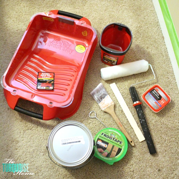 Easy Steps for Painting a Room: Supplies| TheTurquoiseHome.com