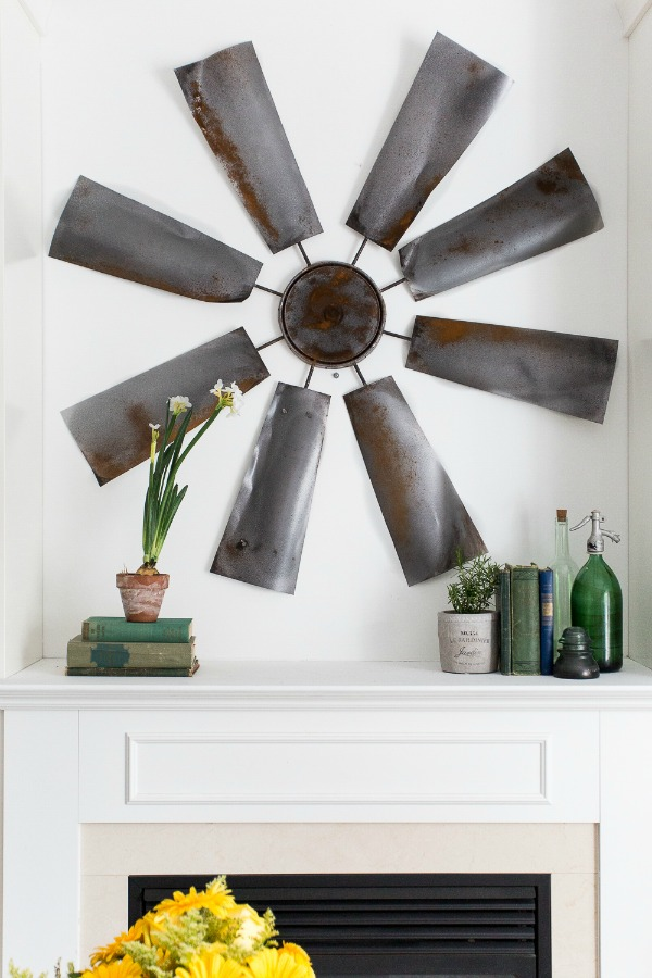 DIY Faux Windmill