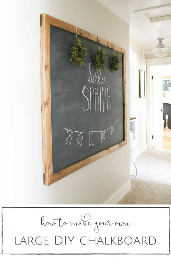 DIY Large Chalkboard