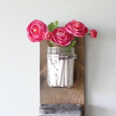 DIY Chalk and Eraser Holder {for a Chalkboard}