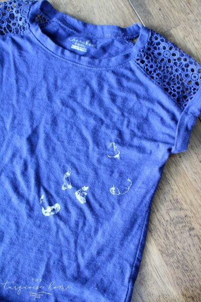 What?!? So easy and simple! How to Remove Sticker Residue from Clothing   TheTurquoiseHome.com