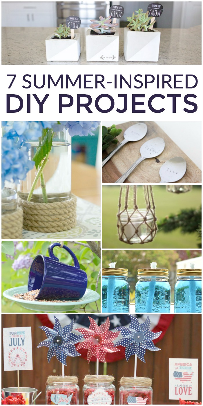 7 Summer-Inspired DIY Projects