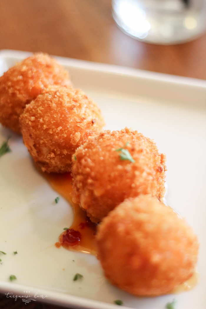 BEST of Franklin, Tennessee   Fried Pimento Cheese Balls from Gray's on Main in Downtown Franklin, Tennessee