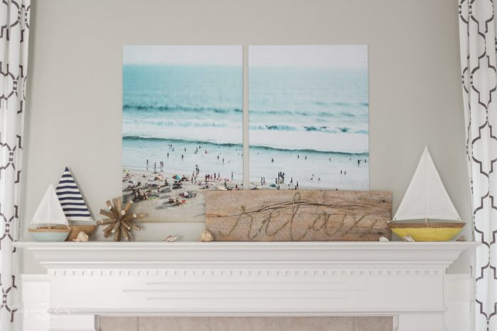Get these huge prints for less tun $20!! How to Create Large Wall Art on a Budget with Color Engineer Prints!