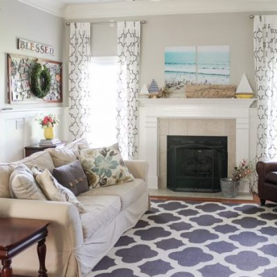 5 Ways to Add Summer Decor to Your Home | Summer Home Tour 2016