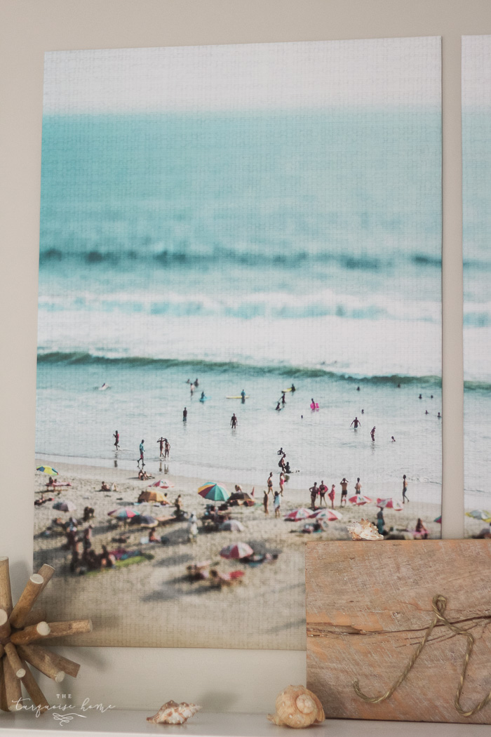 Color engineer prints diy large art on a budget love these tips 5 simple ways to add summer decor to your home malvernweather Gallery
