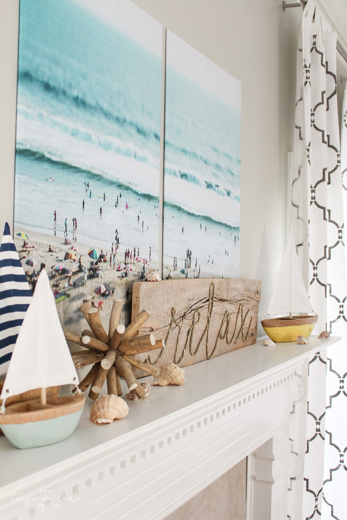 LOVE these tips! 5 simple ways to add summer decor to your home!
