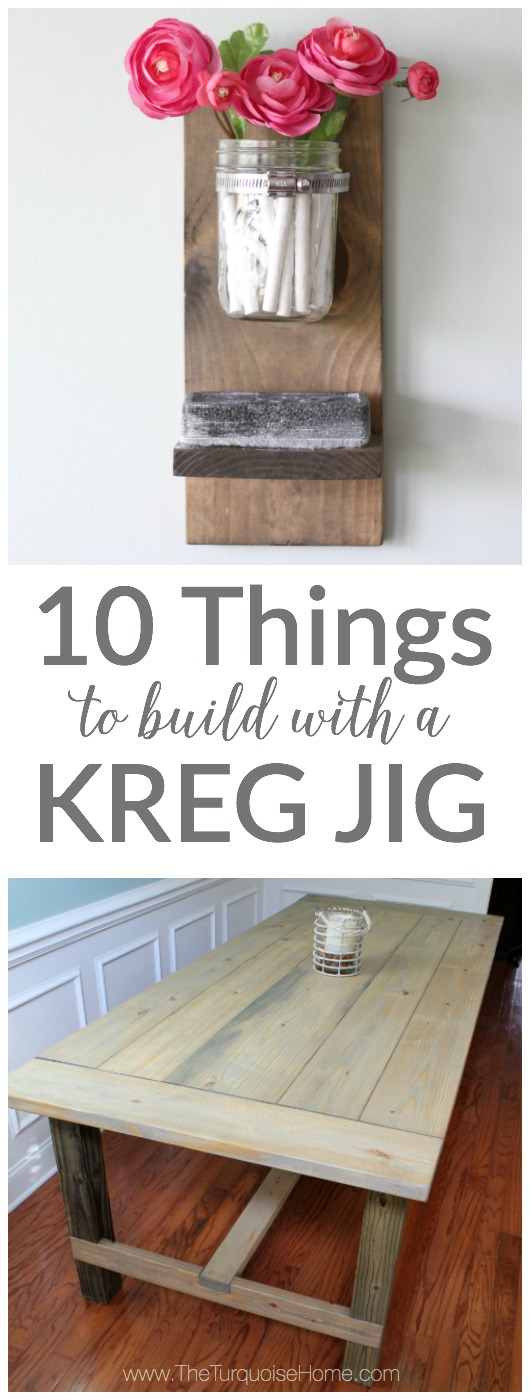 10 Kreg Jig Projects You Will Love Amazingly Easy