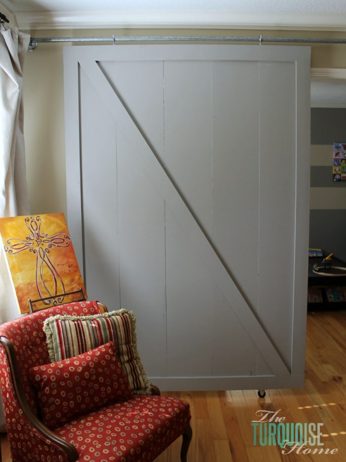 DIY Sliding Barn Door | 10 Amazing Kreg Jig Projects