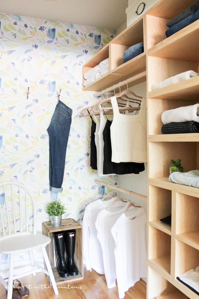 DIY Master Bedroom Closet