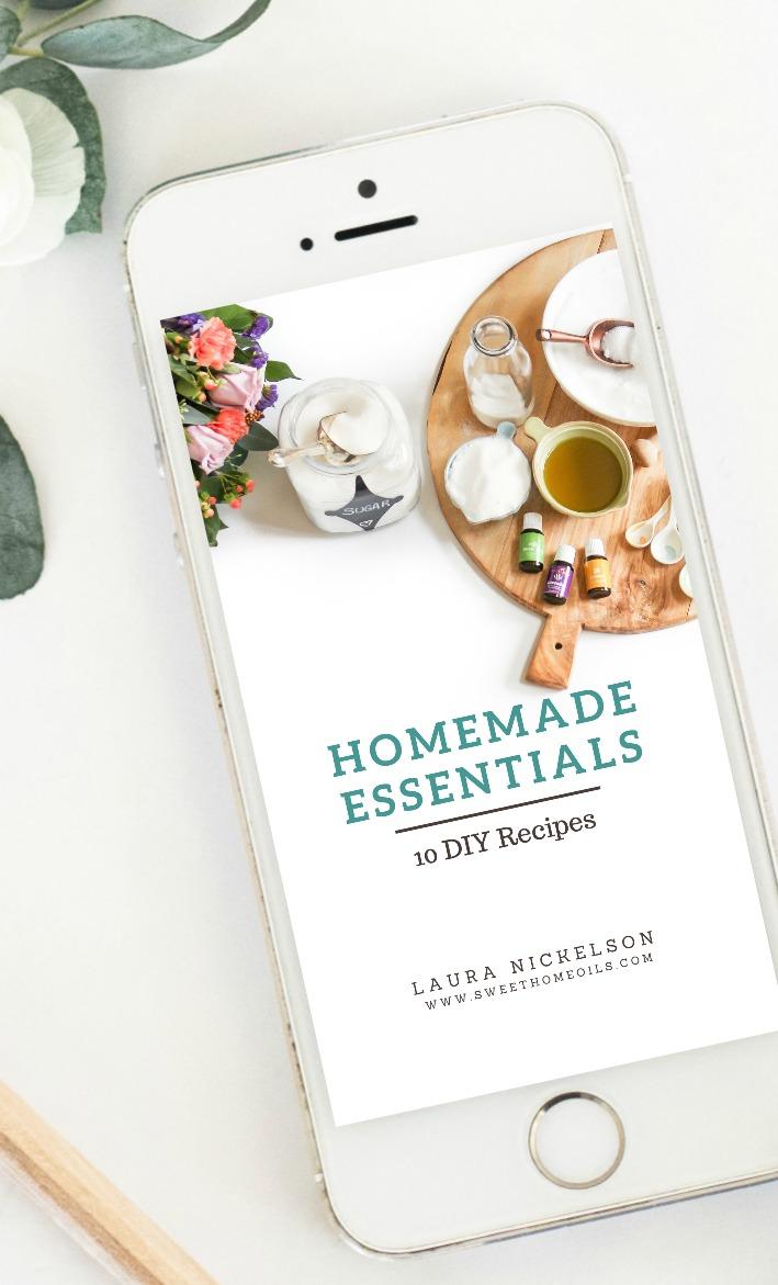 Homemade Essentials FREE Mini Ebook