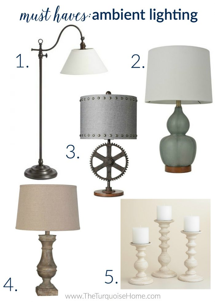 5 Things Every Living Room Needs |Ambient Lighting