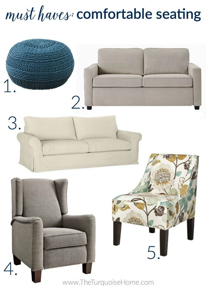 5 Things Every Living Room Needs | Comfortable Seating