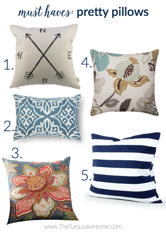 Domain Decorative Pillows Tj Maxx : 5 Things Every Living Room Needs The Turquoise Home