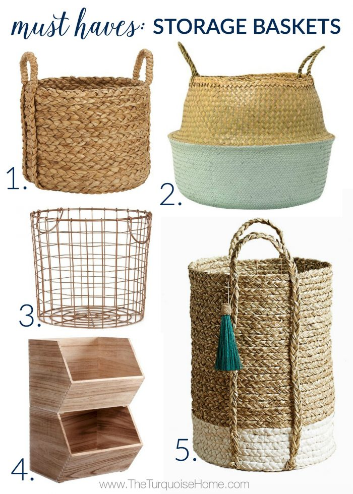 5 Things Every Living Room Needs | Storage Baskets