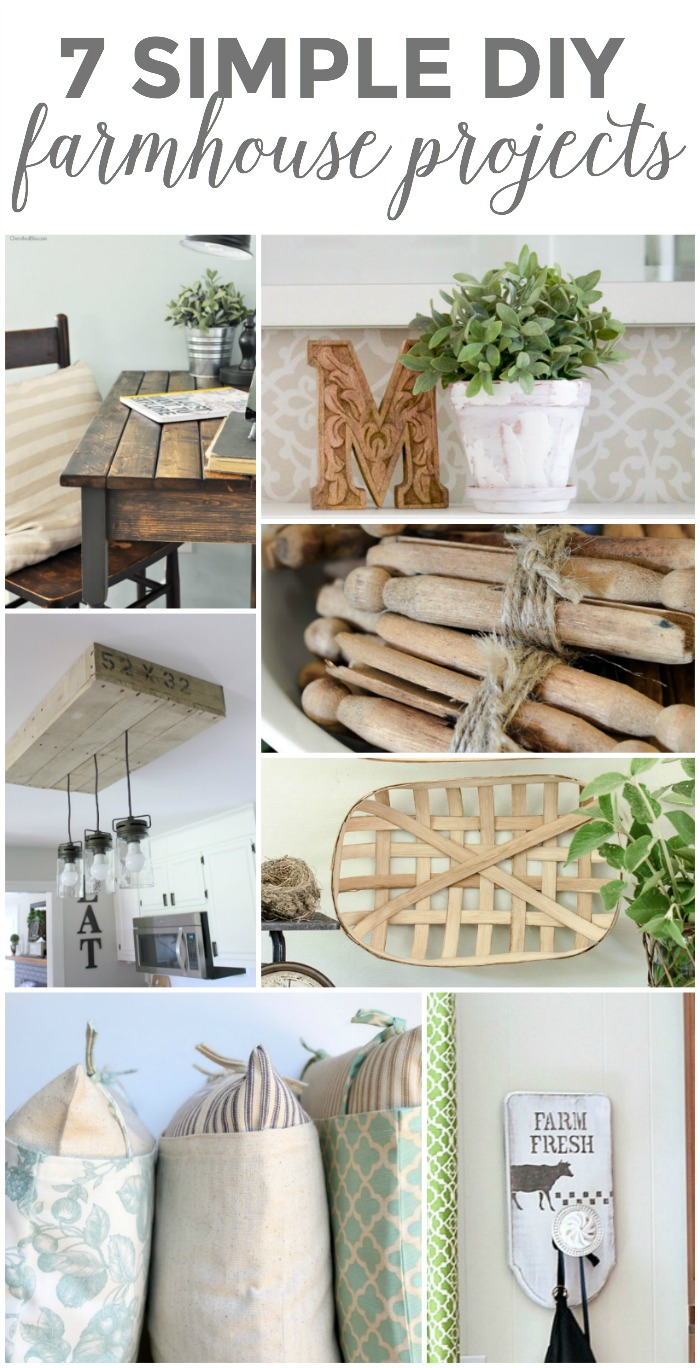 7 Simple DIY Farmhouse Projects
