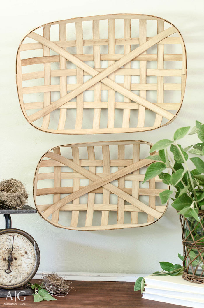 DIY Rustic Basket