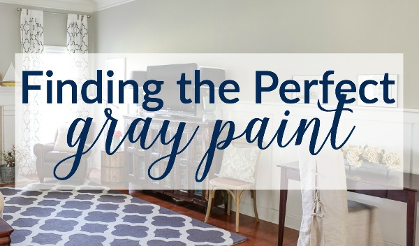 Finding the Perfect Gray Paint