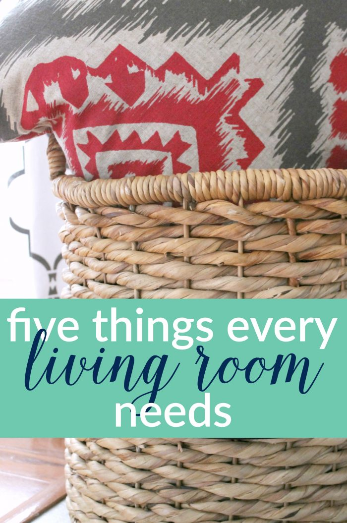 Want to create a cozy, inviting, authentic space? 5 things Every Living Room Needs