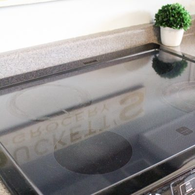 Non-Toxic Glass Stove Top Cleaner