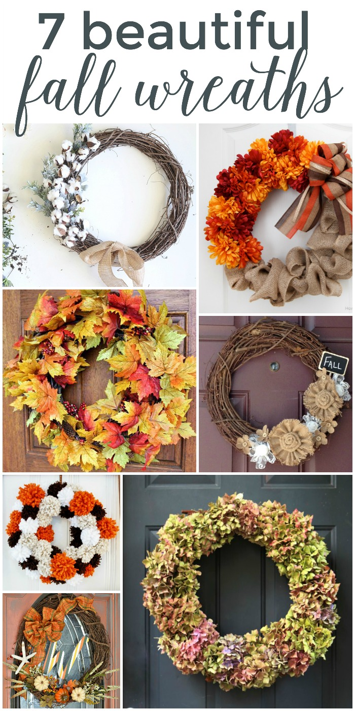 7 Beautiful Fall Wreaths