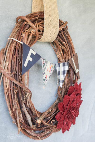 Simple project alert!! DIY Target Dollar Spot Fall Wreath