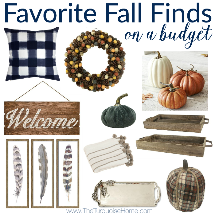 Favorite Fall Finds on a Budget!