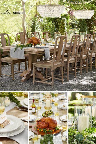 Garden Soiree Thanksgiving Tablescape