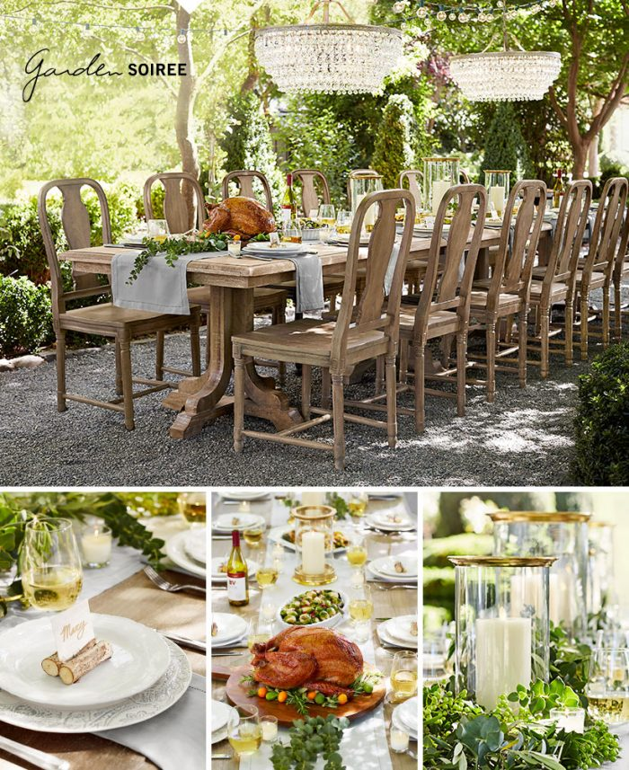 Garden Soiree Thanksgiving Tablescape
