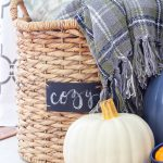 Naturally Rustic Fall Mantel | What to Do When you Don't Want to Decorate?