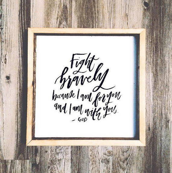 Fight bravely: Top 15 Gifts for the Inspirational Wall Art Lover