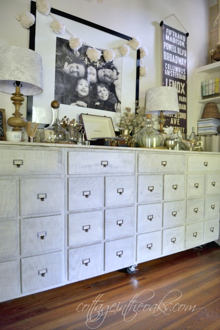 DIY Vintage Card Catalog