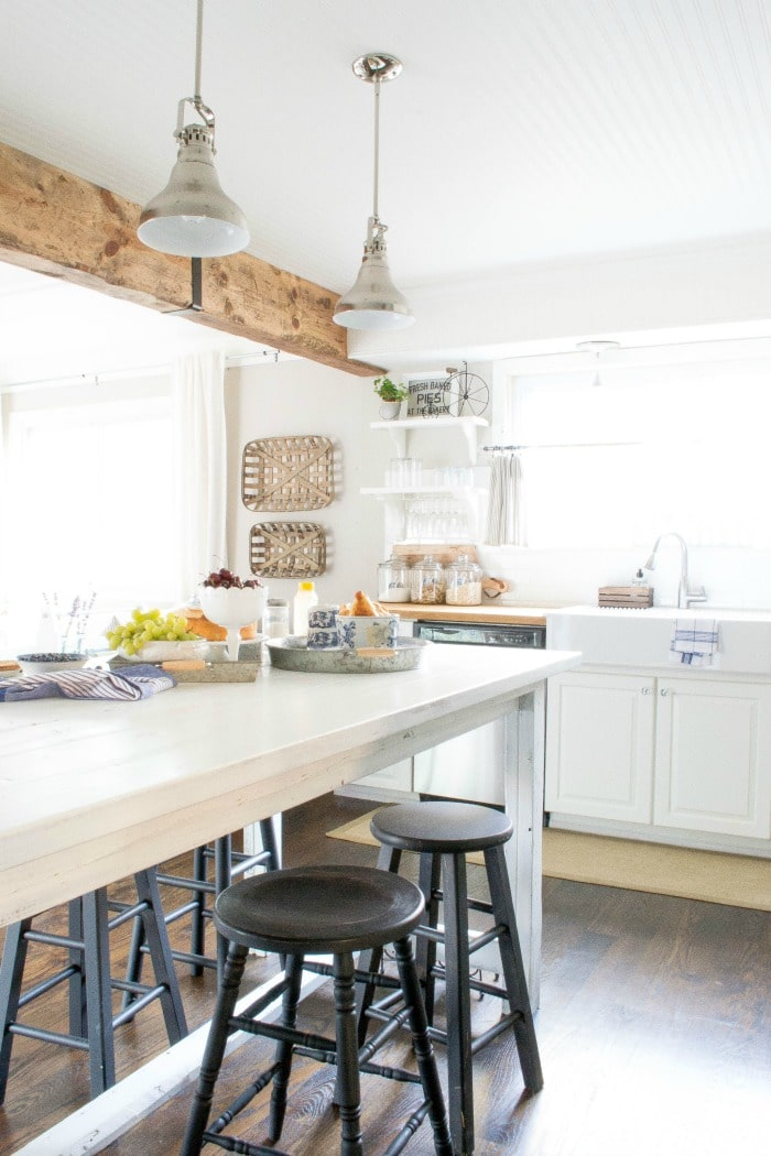 DIY Reclaimed Wood Beam with New Wood