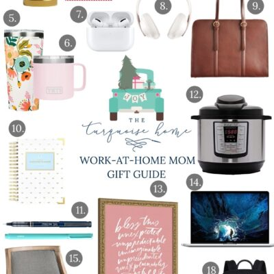 The Top Gifts for a Work-at-Home Mom | Gift Guide