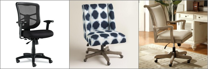Cute and functional desk chairs! Top 15 Work-at-Home Mom gift ideas!!