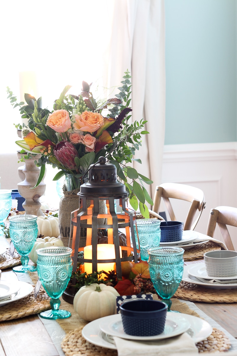 A Farmgirl Flowers Fall Tablescape Is Absolutely Stunning