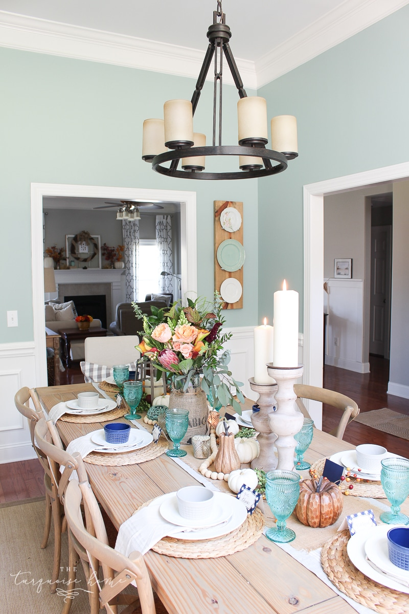 Wythe Blue is a gorgeous wall color for any space in the home! Choose your favorite color for your first pop of color in your Whole Home Color Palette. It won't be hard to incorporate it in every room!