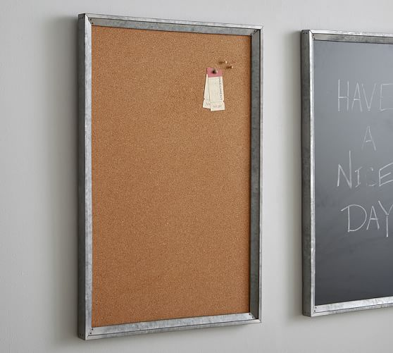 Galvanized Metal Cork Board! Top 15 Work-at-Home Mom gift ideas!!