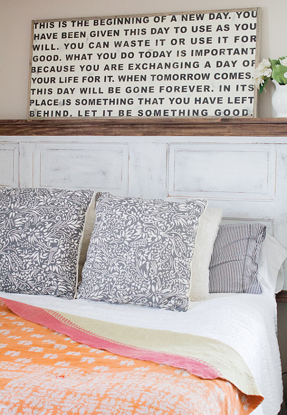 Let it Be Something Good Wood Sign | Top 15 Gifts for the Inspirational Wall Art Lover