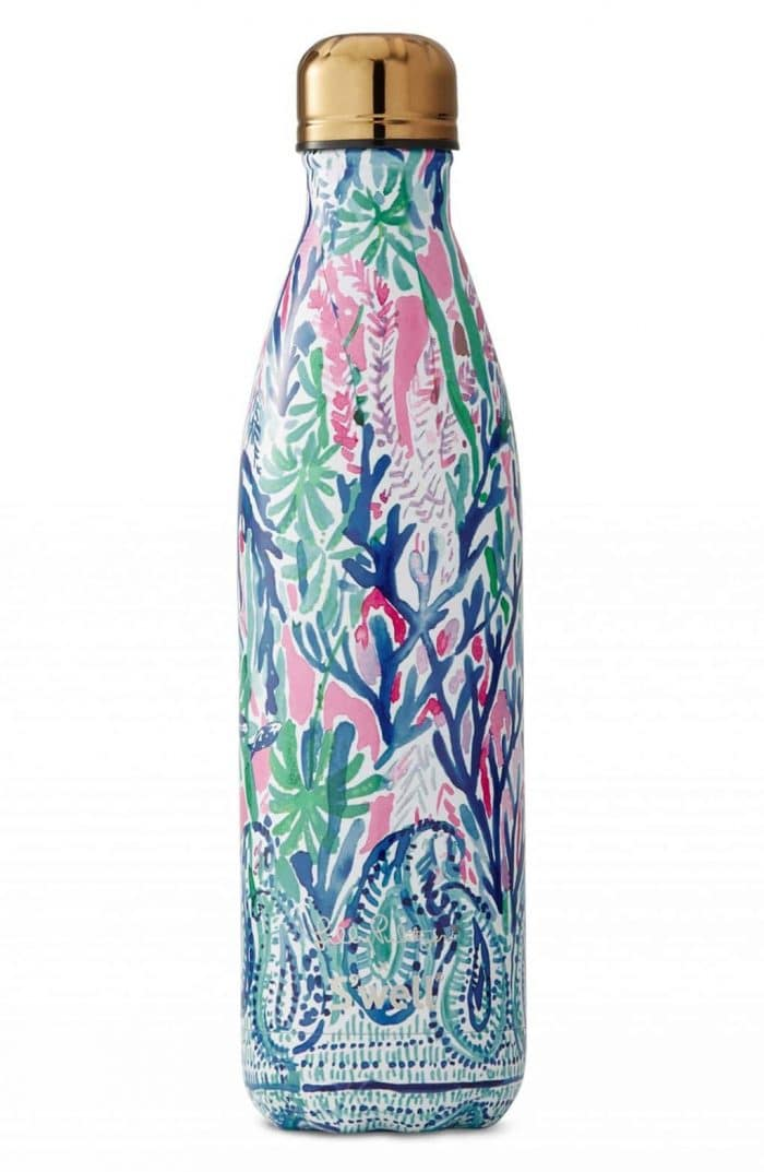 Lilly Pulitzer and Swell Water Bottle | Gorgeous Turquoise Gifts for the Cook!