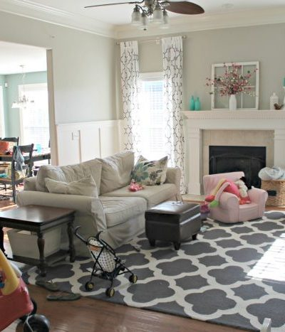My real life living room reveal!