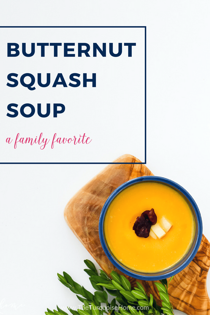Easy Butternut Squash Soup Recipe - perfect for entertaining!