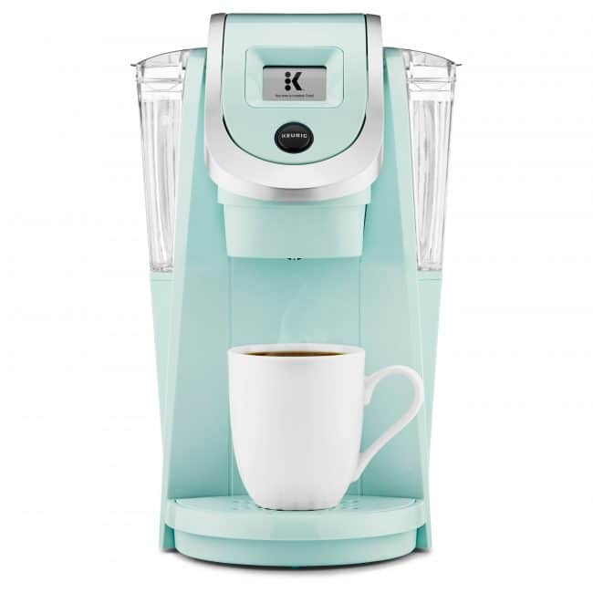 Coffee is even better out of a turquoise Kuerig!! 😋 | Top 15 Kitchen Gifts for the Turquoise Lover