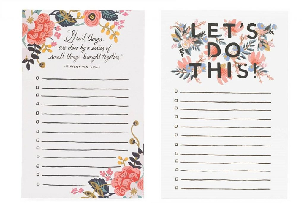 The perfect place to keep all of your ideas in order: a to-do list and pencil set | | Top 15 Best Gifts for the Beginner DIYer
