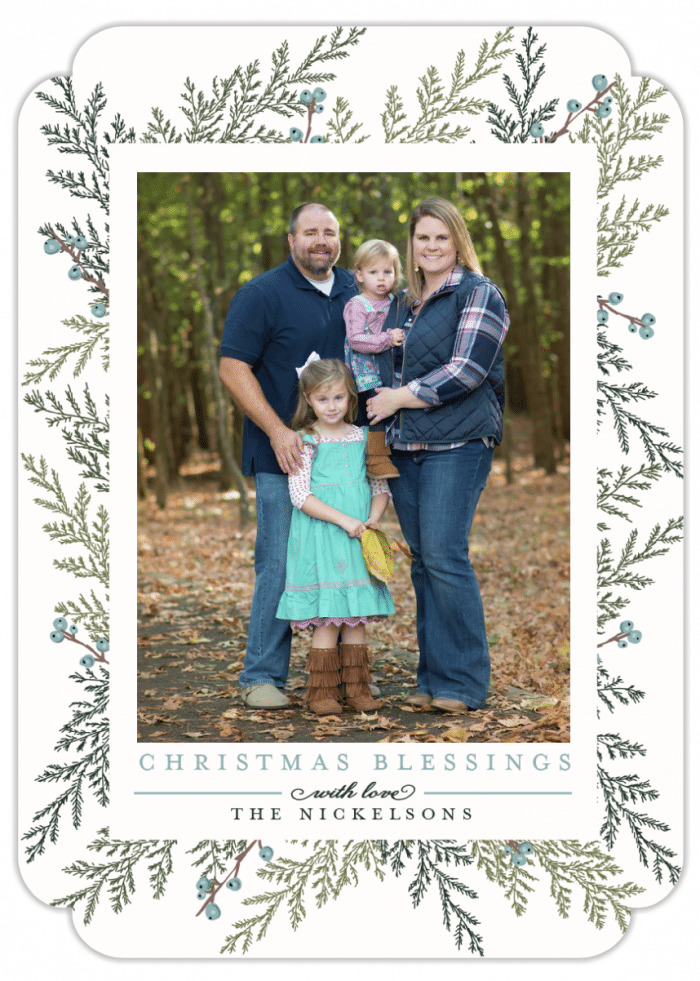 Great tips! How to Choose the Perfect Photo Christmas Cards! Christmas Blessings Christmas Card Design
