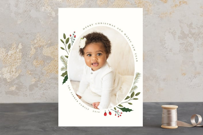 Great tips! How to Choose the Perfect Photo Christmas Cards! Christmas Sprigs Christmas Card Design