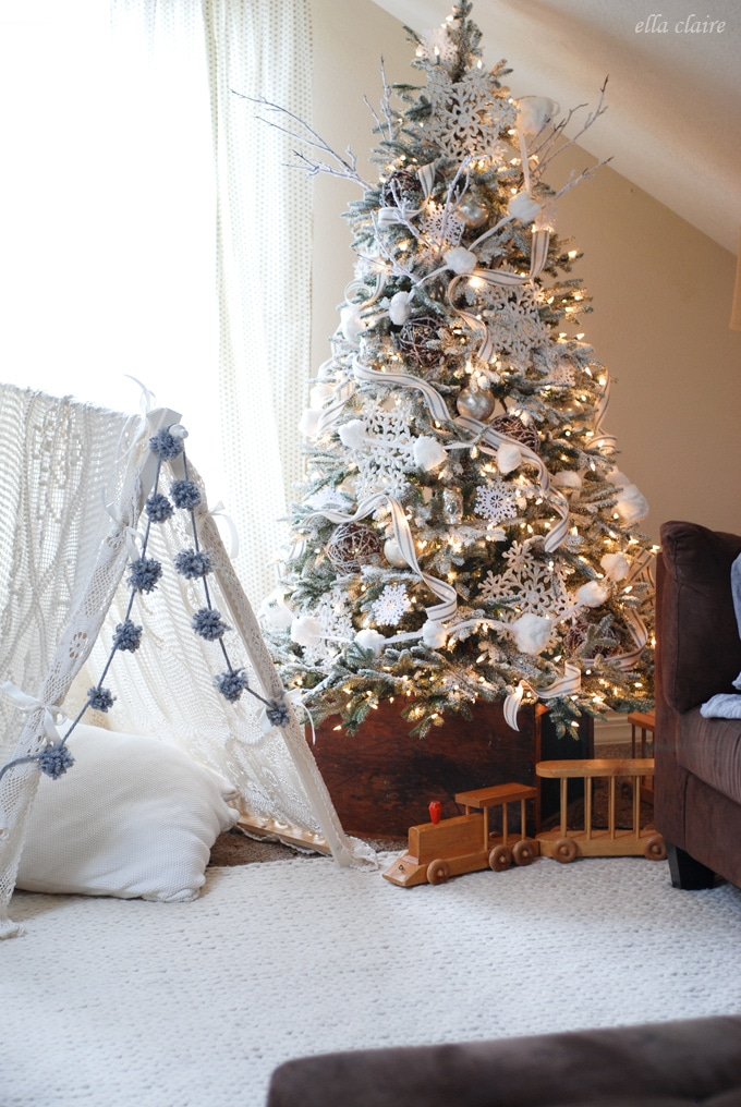 How To Decorate For Christmas The Turquoise Home