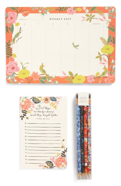 The perfect place to keep all of your ideas in order: a to-do list and pencil set     Top 15 Best Gifts for the Beginner DIYer